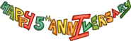 5th Anniversary Party Logo