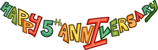File:5th Anniversary Party Logo.png