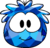 Blue Crystal Puffle Costume icon.png