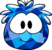 Blue Crystal Puffle Costume icon