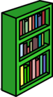 Green Bookcase sprite 011