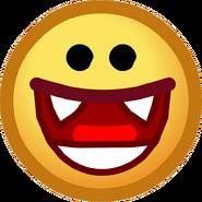 Halloween 2014 Emoticons Vampire Smile