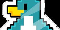 Pixel Penguin Pin
