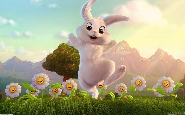 File:White rabbit 1680x1050.jpg