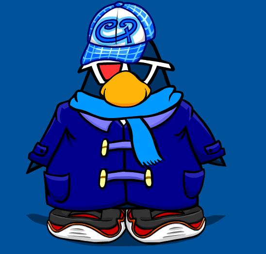 Image - Blue Duffle Coat Ocean.png   Club Penguin Wiki   Fandom