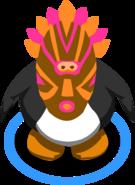 Pink Tiki Mask in game