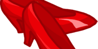 Red Biker Shoes