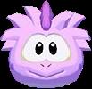 Pink stegasaurus 3d icon