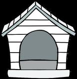 White Puffle House