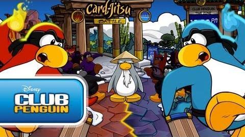Card-Jitsu Party 2011 Official Trailer - Club Penguin