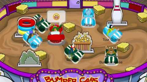 Bumper Cars! Fair 2011 Sneak Peek Club Penguin )