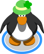 Shamrock Hat Penguin