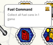 Fuel command stamp book