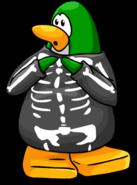 GreenPenguinSkeletonCostumeItemPose