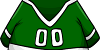 Green Hockey Jersey