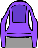 Purple Plastic Chair sprite 001