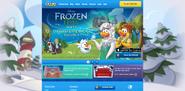 FrozenFeverPartyHomepageScreen2