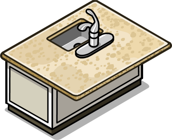 File:Granite Kitchen Island In-Game.png