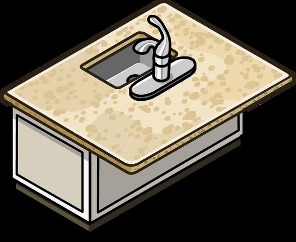 File:Granite Kitchen Island In-Game.png