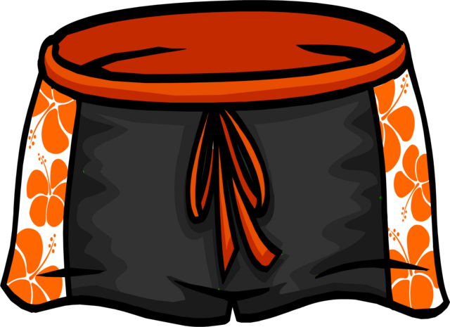 File:Black Hawaiian Shorts icon ID 4096.png
