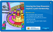 Zany Dimension April Fools 2012