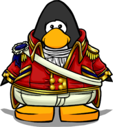 Scarlet Admiral Coat on Player Card