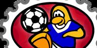 Soccer Team stamp