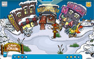 Town during Camp Penguin