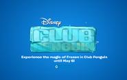 Frozen Fever Party 2015 logo screen