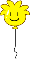Yellow Puffle Balloon icon