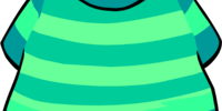 Aqua Striped T-Shirt