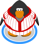 Red Baseball Uniform ingame