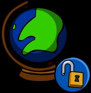 Globe unlockable icon