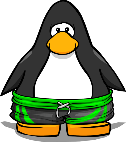 File:Green Surf Shorts on a Player Card.png