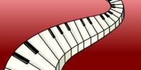 Piano Keys Background