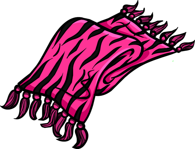 File:Pink Zebra Scarf.png