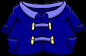 Blue Duffle Coat clothing icon ID 219