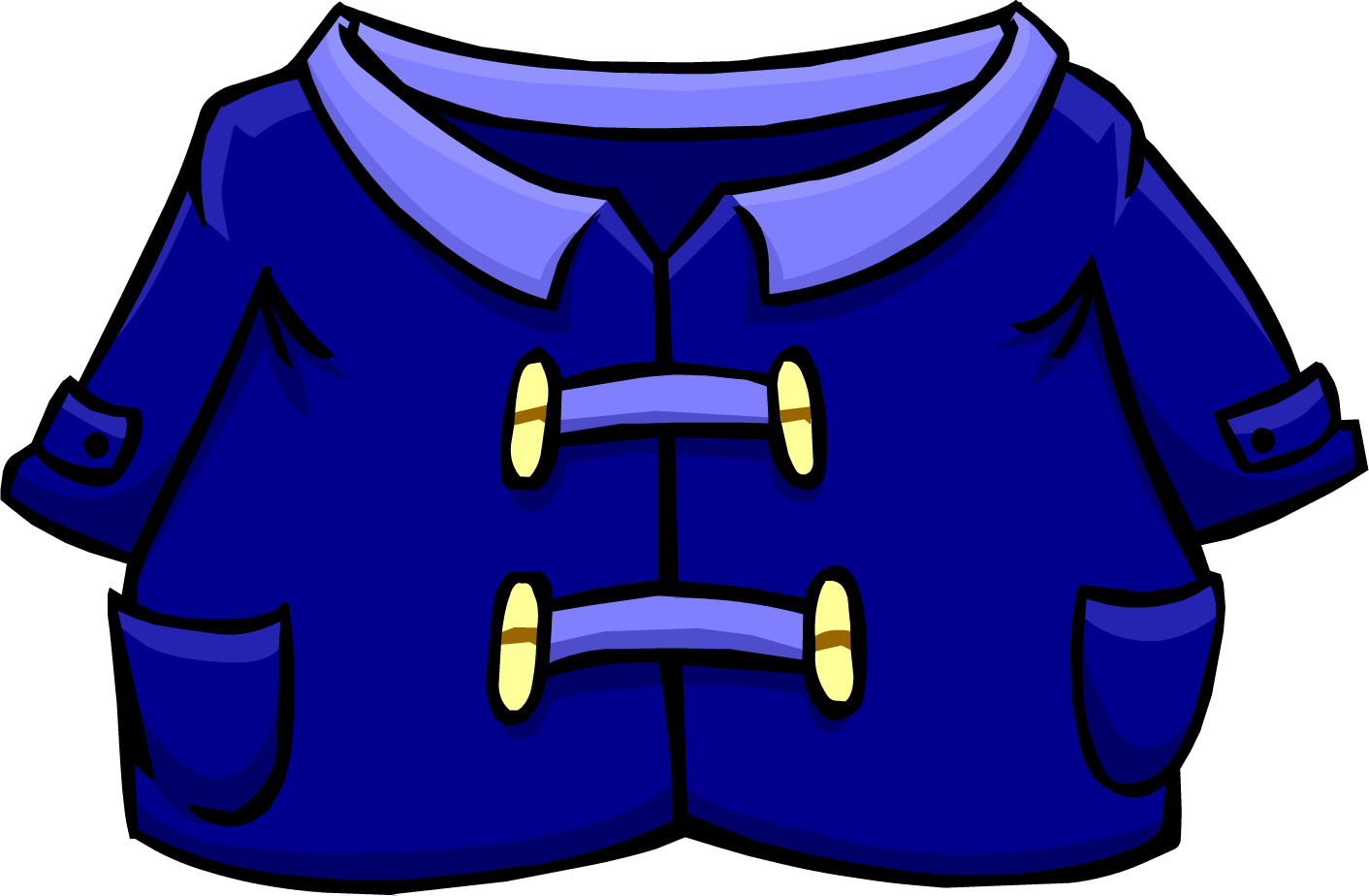 Blue Duffle Coat | Club Penguin Wiki | Fandom powered by Wikia