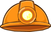 Puffle Care Icons Head Dighelmet