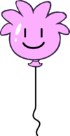 Pink Puffle Balloon icon