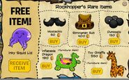 Rockhopper Items