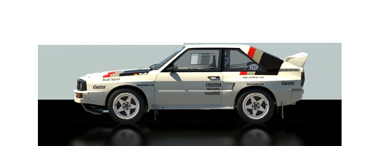 DiRT Rally Audi Sport quattro Rallye