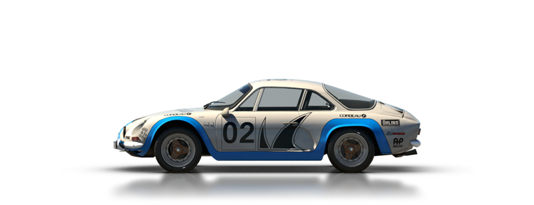 DiRT Rally Renault Alpine A110