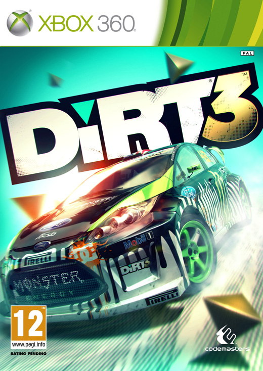 Dirt3 frontcover