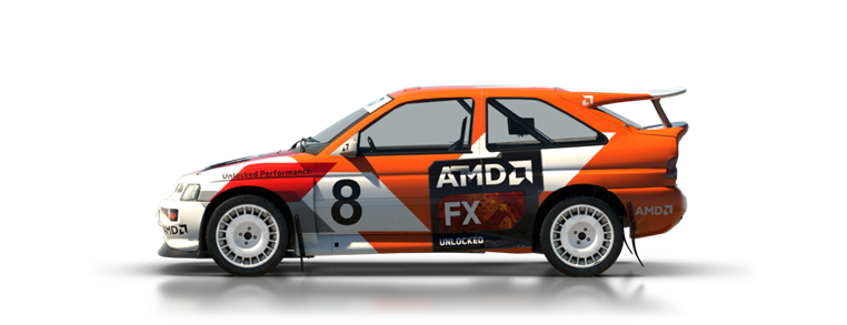 DiRT Rally Ford Escort RS Cosworth