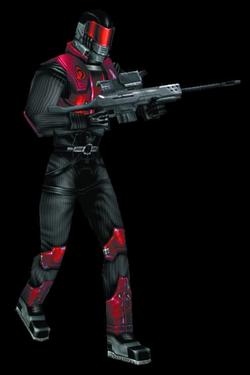 CNCR Black Hand Sniper Render