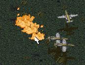 TD A-10 bombing run