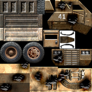 USA Supply Truck Texture 2