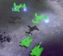 Point defense shields