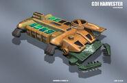 TW GDI Harvester concept by heavymetaldesigner